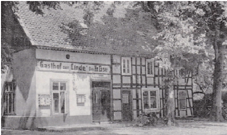 "Gasthof   ""Zur Linde""    um 1950"