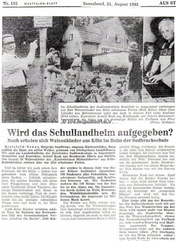 aufgabe schullandheim westfalenblatt 21.08.1965 - kopie