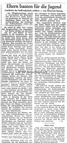 eltern bauten fr die jugend    freie presse 1950