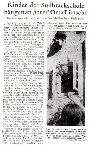 oma lnsche freie presse 15.09 1962