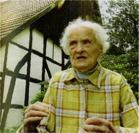 Margarete Rühlmann  Foto L. Teichmann
